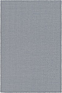 Navy, Ivory (4962-0732) Cottages Bungalow Chevron Area Rugs