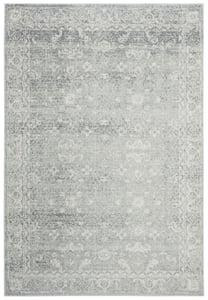 Silver, Ivory (Z) Evoke EVK-270 Traditional / Oriental Area Rugs