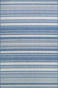Champagne, Blue (5313-1212) Recife Gazebo Stripe Striped Area Rugs
