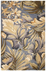 Ocean (3180) Sparta Paradise Floral / Botanical Area Rugs