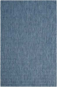 Navy (36822) Courtyard CY-8520 Contemporary / Modern Area Rugs