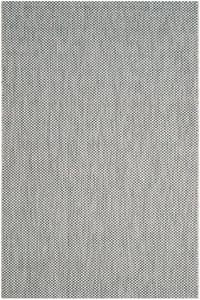Grey, Navy (36812) Courtyard CY-8521 Contemporary / Modern Area Rugs