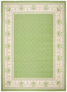 Olive, Natural (1E06) Courtyard CY-0901 Country Area Rugs