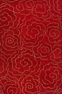 Red (A) Soho I SOH-812 Contemporary / Modern Area Rugs