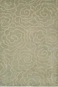 Soft Light Blue, Ivory (B) Soho I SOH-812 Contemporary / Modern Area Rugs