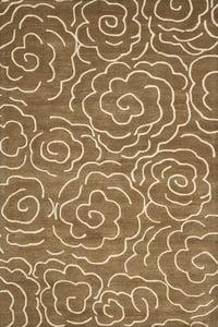 Brown, Ivory (C) Soho I SOH-812 Contemporary / Modern Area Rugs