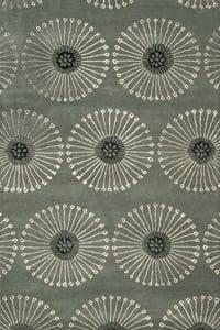 Grey, Ivory (C) Soho I SOH-821 Contemporary / Modern Area Rugs