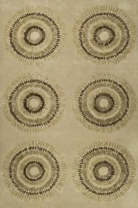 Beige, Gold (A) Soho I SOH-719 Contemporary / Modern Area Rugs