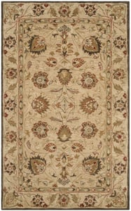 Beige, Beige (A) Antiquity AT-812 Traditional / Oriental Area Rugs