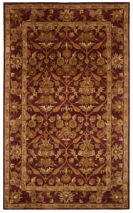 Wine, Gold (A) Antiquity AT-51 Traditional / Oriental Area Rugs