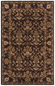 Dark Plum, Gold (B) Antiquity AT-51 Traditional / Oriental Area Rugs