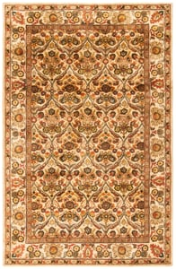Gold (C) Antiquity AT-51 Traditional / Oriental Area Rugs
