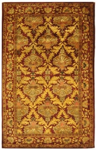 Wine, Gold (A) Antiquity AT-54 Traditional / Oriental Area Rugs