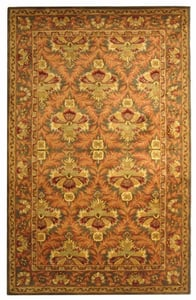 Sage, Gold (B) Antiquity AT-54 Traditional / Oriental Area Rugs