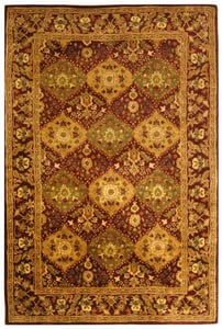Wine (B) Antiquity AT-57 Traditional / Oriental Area Rugs