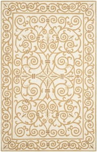 Ivory, Gold (P) Chelsea II HK-11 Contemporary / Modern Area Rugs