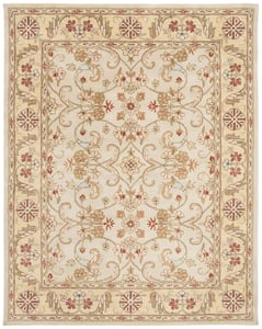 Grey, Light Gold (B) Classic II CL-324 Traditional / Oriental Area Rugs