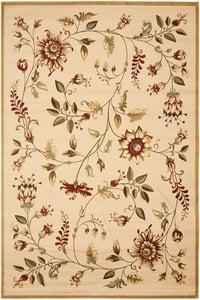 Ivory (1291) Lyndhurst LNH-552 Floral / Botanical Area Rugs