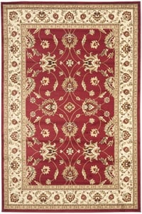 Red, Ivory (4012) Lyndhurst LNH-553 Traditional / Oriental Area Rugs