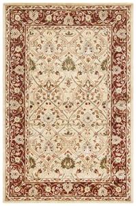 Ivory, Rust (D) Persian Legend II PL-819 Traditional / Oriental Area Rugs