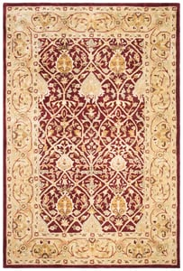 Red, Gold (K) Persian Legend II PL-819 Traditional / Oriental Area Rugs