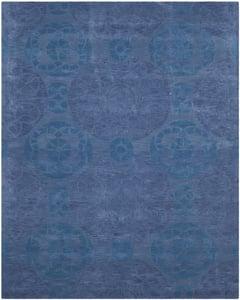 Blue (E) Wyndham WYD-376 Contemporary / Modern Area Rugs