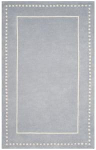 Light Blue, Ivory (A) Bella BEL-151 Contemporary / Modern Area Rugs