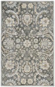 Grey (B) Bella BEL-923 Traditional / Oriental Area Rugs