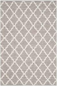 Grey, Ivory (A) Montauk MTK-810 Contemporary / Modern Area Rugs