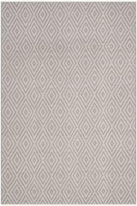 Grey, Ivory (A) Montauk MTK-811 Contemporary / Modern Area Rugs
