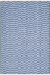 Blue, Ivory (B) Montauk MTK-811 Contemporary / Modern Area Rugs