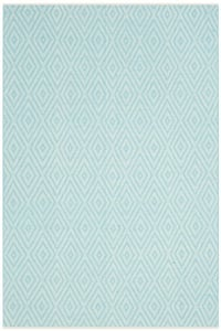 Turquoise, Ivory (H) Montauk MTK-811 Contemporary / Modern Area Rugs
