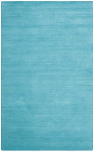 Turquoise (A) Himalaya HIM-610 Solid Area Rugs
