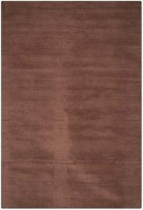 Brown (F) Himalaya HIM-610 Solid Area Rugs