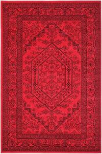 Red, Black (F) Adirondack ADR-108 Traditional / Oriental Area Rugs