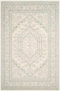 Ivory, Slate (S) Adirondack ADR-108 Traditional / Oriental Area Rugs