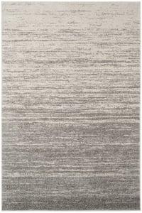 Light Grey, Grey (C) Adirondack ADR-113 Contemporary / Modern Area Rugs
