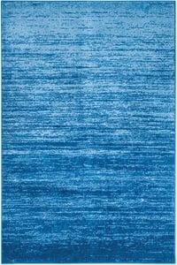 Light Blue, Dark Blue (F) Adirondack ADR-113 Contemporary / Modern Area Rugs