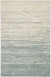 Slate, Cream (T) Adirondack ADR-113 Contemporary / Modern Area Rugs