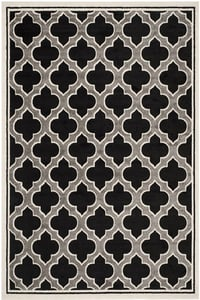 Anthracite, Ivory (G) Amherst AMT-412 Contemporary / Modern Area Rugs