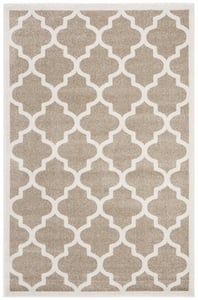 Wheat, Beige (S) Amherst AMT-420 Contemporary / Modern Area Rugs
