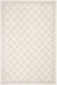 Beige, Light Grey (E) Amherst AMT-422 Contemporary / Modern Area Rugs