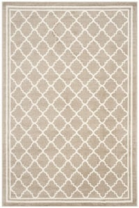 Wheat, Beige (S) Amherst AMT-422 Contemporary / Modern Area Rugs