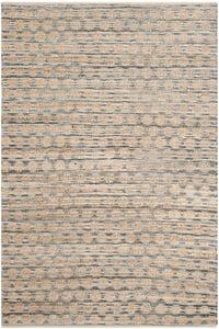 Black, Natural (A) Cape Cod CAP820 Natural Fiber Area Rugs