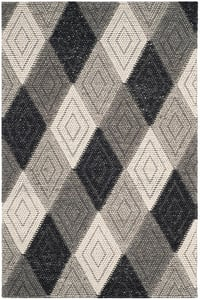 Anthracite (D) Natura NAT-623 Contemporary / Modern Area Rugs