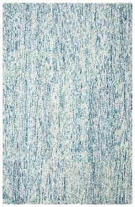 Ivory, Blue (M) Abstract ABT-473 Abstract Area Rugs
