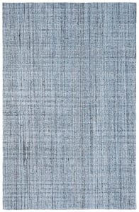 Blue, Black (M) Abstract ABT-604 Contemporary / Modern Area Rugs