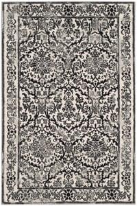 Ivory, Grey (D) Evoke EVK-242 Traditional / Oriental Area Rugs