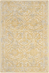 Ivory, Gold (S) Evoke EVK-242 Traditional / Oriental Area Rugs