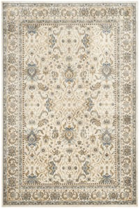 Ivory (C) Persian Garden PEG-607 Traditional / Oriental Area Rugs
